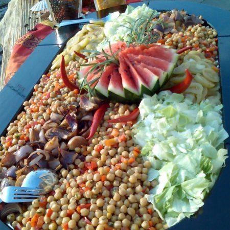 Vegetarisches Büffet